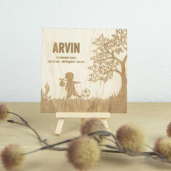 houten-geboortebord-als-kaartje